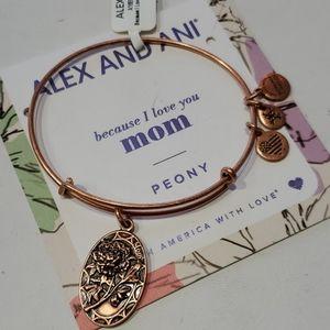 Alex and Ani Mom Because I Love You Bracelet